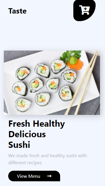 Full Page Sushi Template